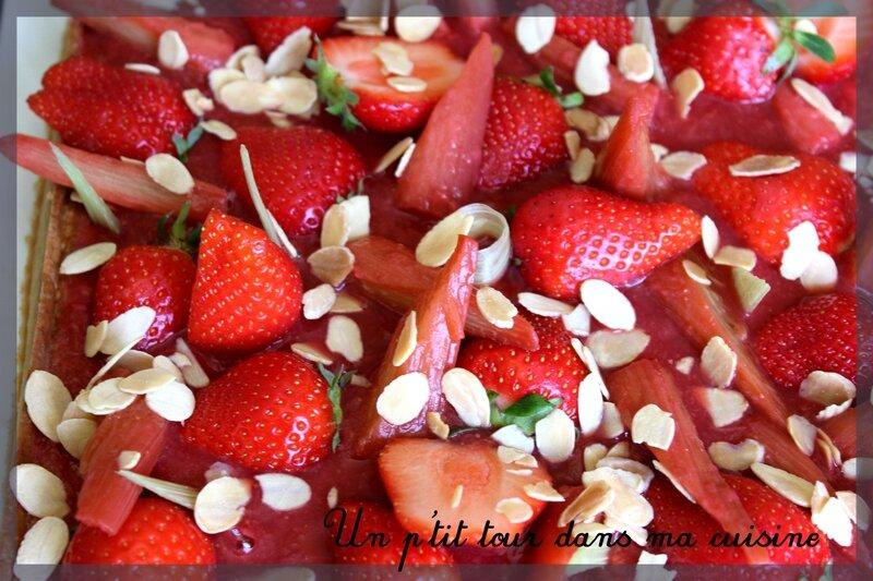 Tarte fraise rhubarbe4