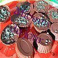 Chocolat fourré à la menthe