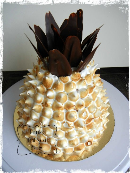 entremet forme ananas prunillefee 1
