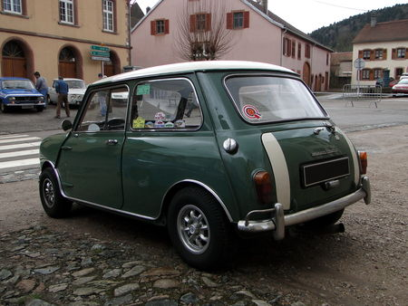 MORRIS Mini Cooper 1961 1967 Criterium de la Vallee de la Bruche Amedee Gordini 2010 2