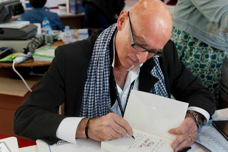Philippe Bouret en dédicace