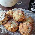 Biscuits pour le thé à la farine de noix de coco, sans gluten