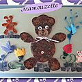 Famille ours en quilling