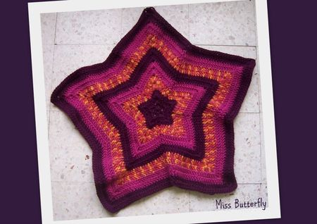 2011-11-01 star blanket Miss Butterfly