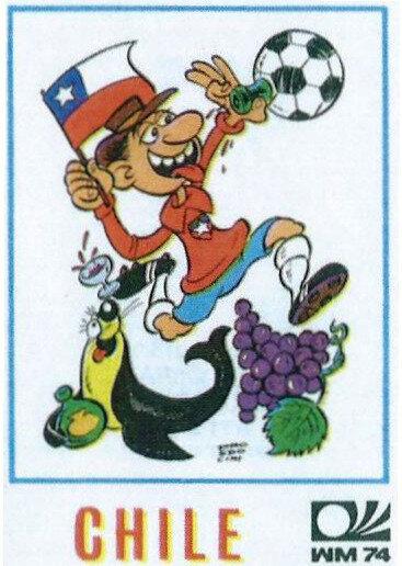 Image Panini Chili Mascotte 1974 R