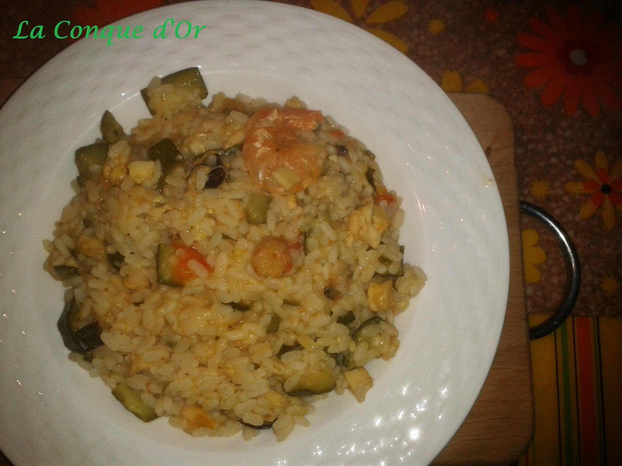Risotto mer et campagne