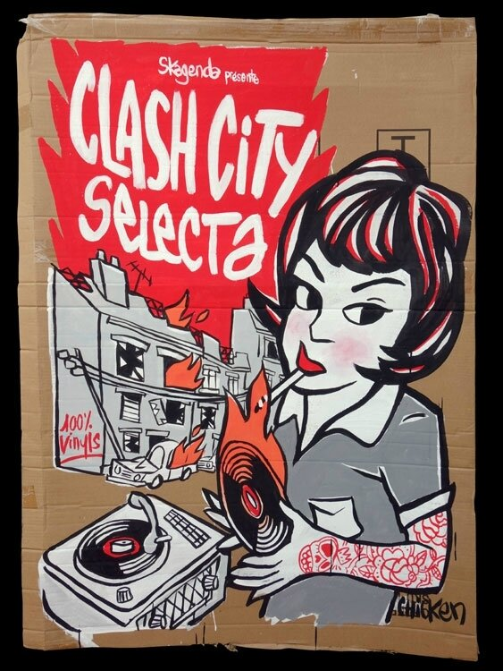Clash city selecta