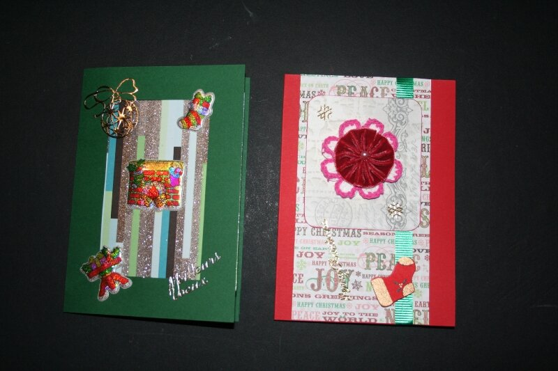 cartes noël 09- 6 et 7