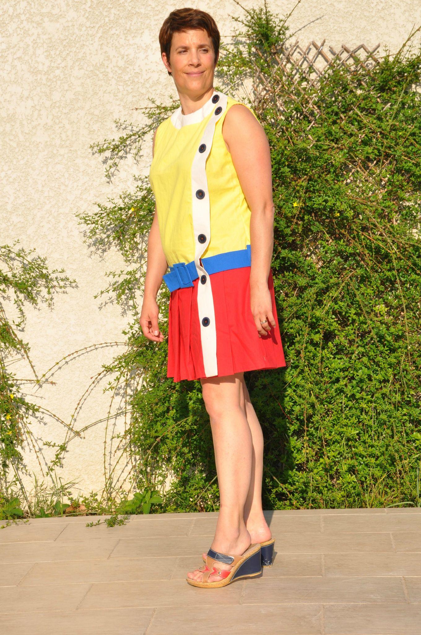 Robe 101 - Burda juillet 2012