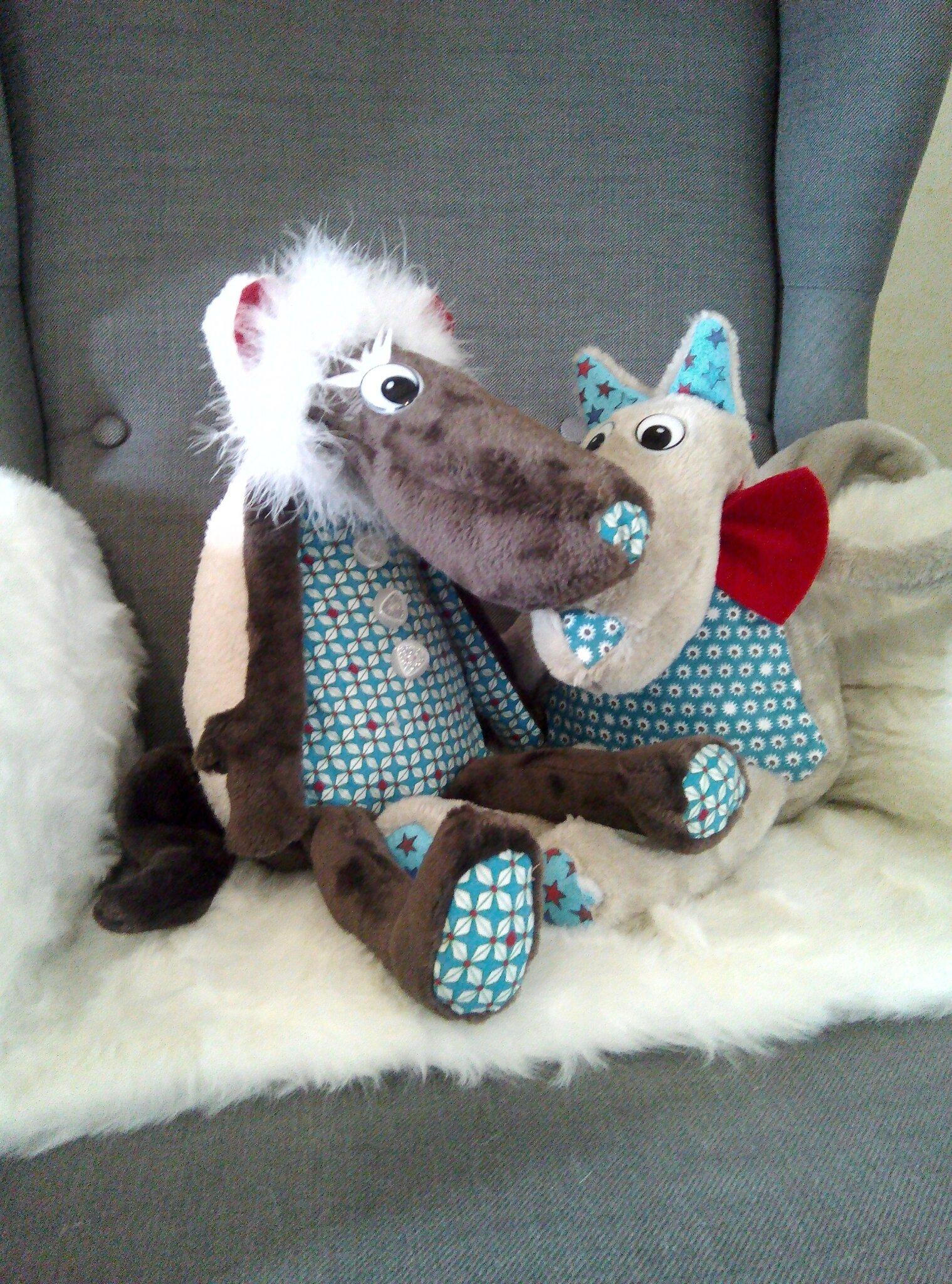 Raoul le loup et Baya la louve brebis