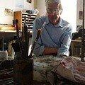 rene follet dans son atelier ...!!!!!