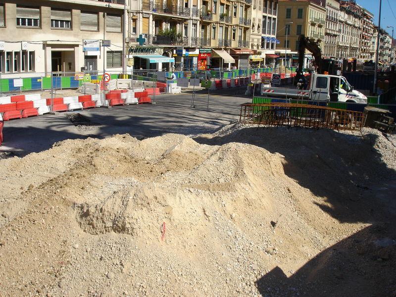 chantier u tramway de nice N° 5 042