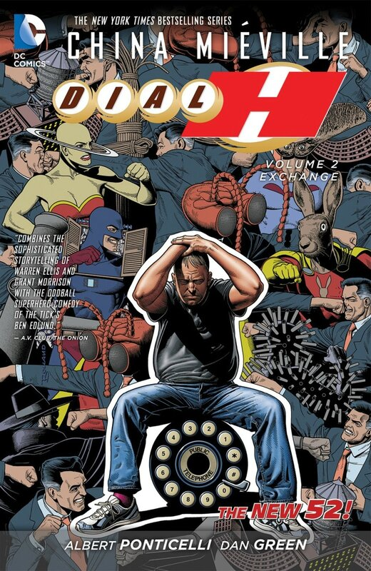 new 52 dial H vol 2 exchange TP