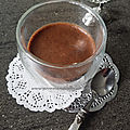 Mousse choco pois chiche
