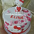 Gateau hello kitty - hello kitty cake