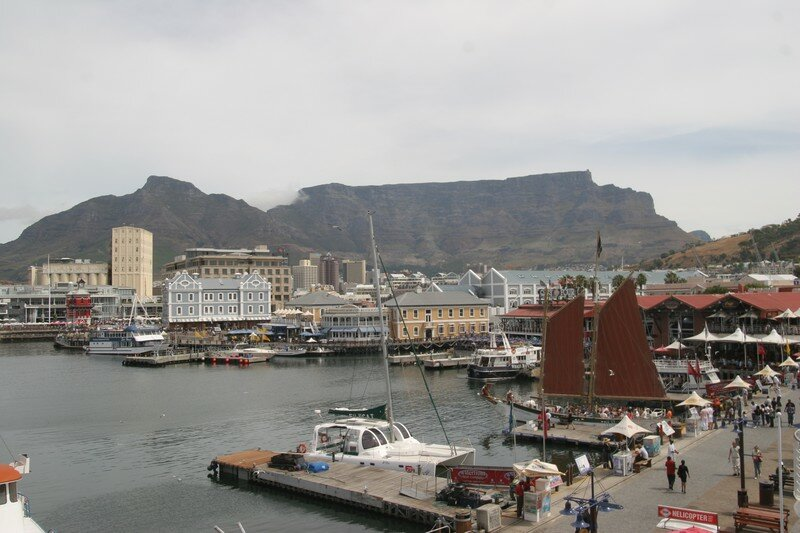 V&A Waterfront in Cape town