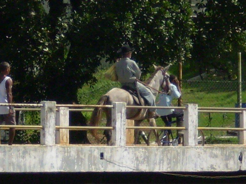 circulation sur le pont
