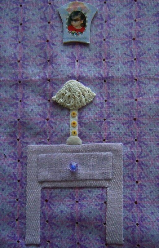 Mini quilt extérieur détail