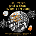 🎃 read-a-thon gourmand, halloween 2020