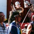 Clifford (Innu), Moriss (Lakota) et Archie (Osage) à Montauban