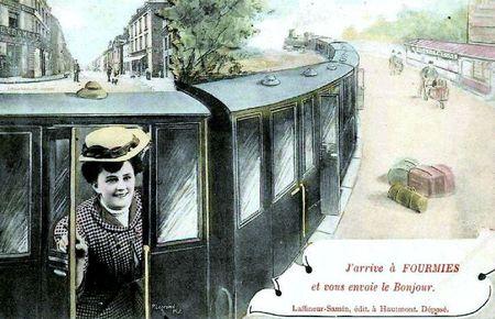 FOURMIES-Carte Souvenir