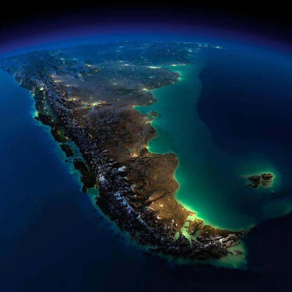 pollution lumineuse amerique du sud