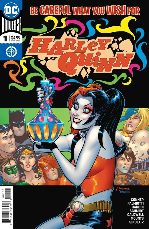 rebirth harley quinn be careful what you wish for special