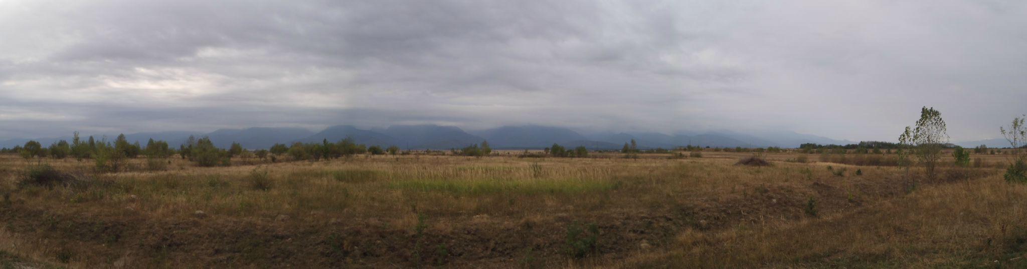 roumanie - les fagaras - temps orageux