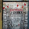 vitrine Bestioles de Légende