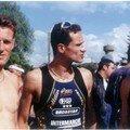 Triathlon St Agil 1997, Didier, Moi et Fredo.