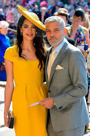 Amal Clooney and Georges Clooney