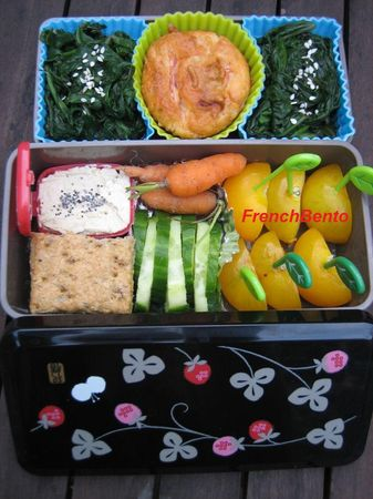 muffin___spinach_bento