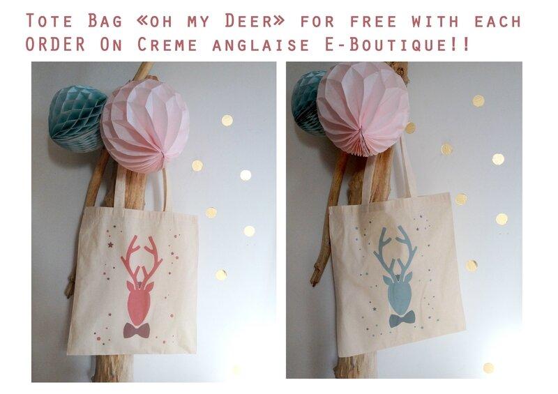 TOTe bag Oh me Deer