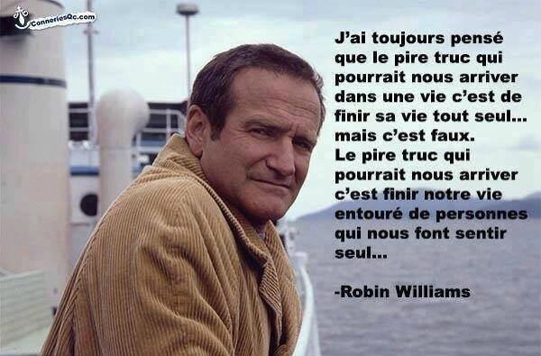 Citation Robin Williams
