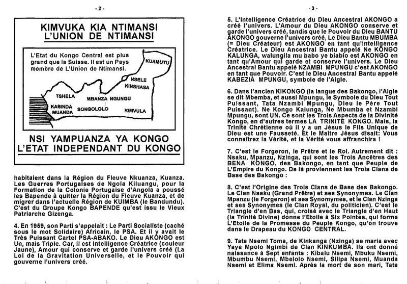 L'HOMME LE PLUS POPULAIRE DU KONGO CENTRAL b