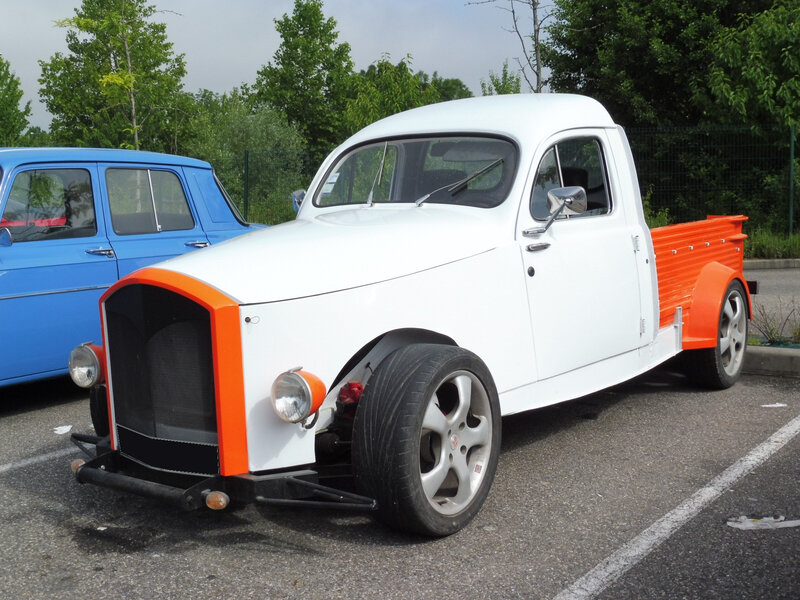 PEUGEOT 203 pick-up Custom Mulhouse (1)