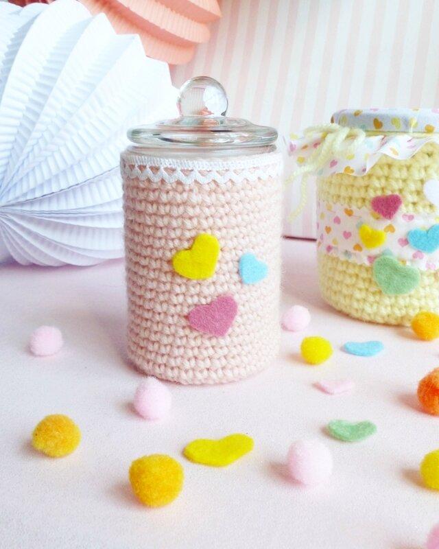 crochet-bonbonnière-bocal-emballage-cadeau-07