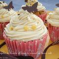 Cupcakes aux pépites de chocolat et crème de caramel au beurre salé