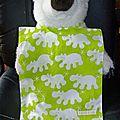 Dernière série, de toutes nouvelles serviettes pour maternelle !