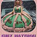 Gateau d'anniversaire princesse