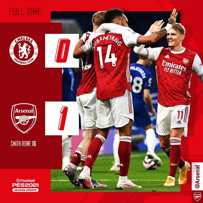 Arsenal remporte le derby londonien face à Chelsea !