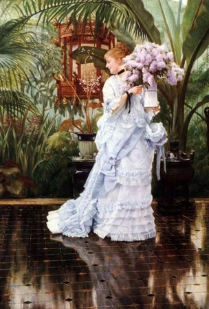 James Tissot - branches de Lilas