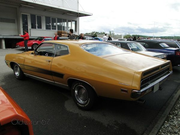 ford torino gt fastback hardtop coupe 1971 b