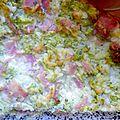 Le flan au brocolis jambon au ras el hanout