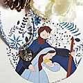 Catho Box St Joseph Ste Famille bleu (collier) - 24 €