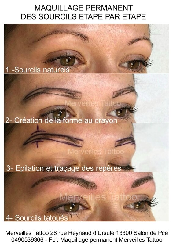 sourcils, poil à poil, maquillage permanent, salon
