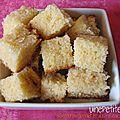 Gâteau au yaourt et à la fleur d'oranger