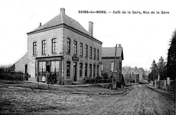 SAINS DU NORD-Café de la Gare