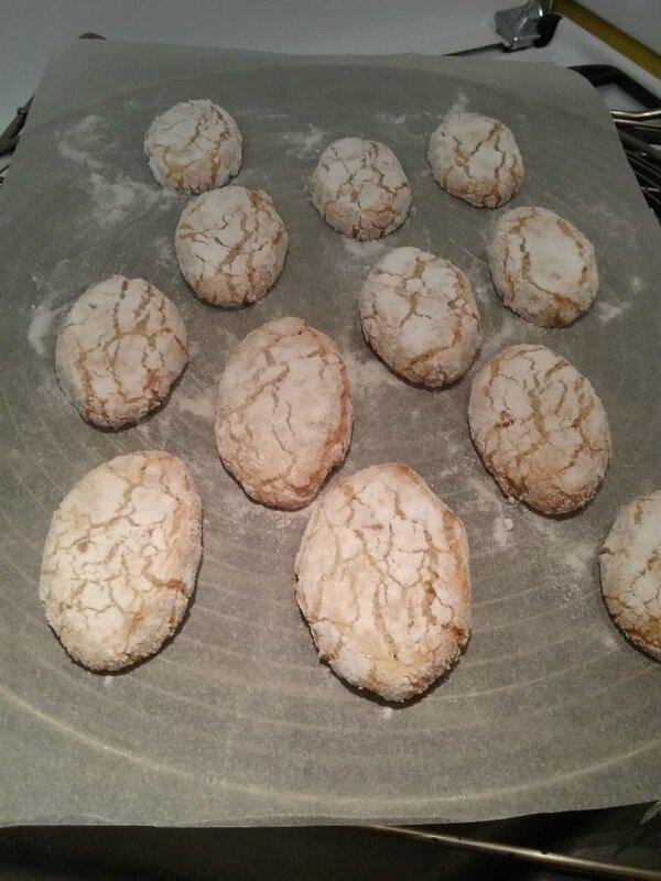 RICCIARELLI , Biscuits Italiens ( aux amandes ) 157