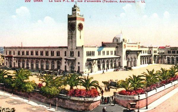 Oran- La gare PLM 14